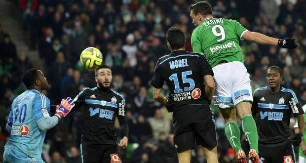 Ligue1: il Lione allunga in vetta, l'OM raggiunto al 91′