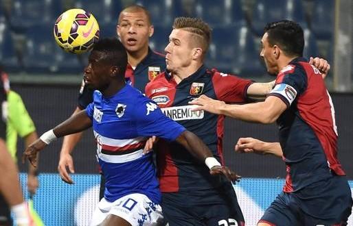 Serie A, il derby di Genova finisce 1-1