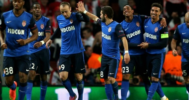Il Monaco affonda l'Arsenal con 3 reti all'Emirates Stadium.