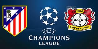 Champions: l'Atletico si gioca tutto col Bayer