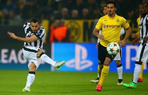 CL, come Baggio e Del Piero: Tevez spacca Dortmund