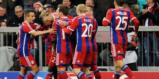 Champions League : il Bayern strapazza 7-0 lo Shakhtar.