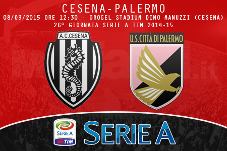 Cesena-Palermo, ecco le formazioni