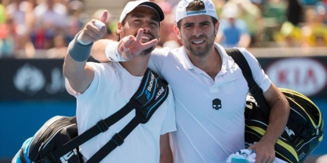 Coppa Davis, Bolelli/Fognini portano in vantaggio l'Italia