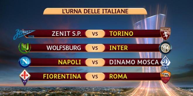 Europa League : i risultati delle italiane.
