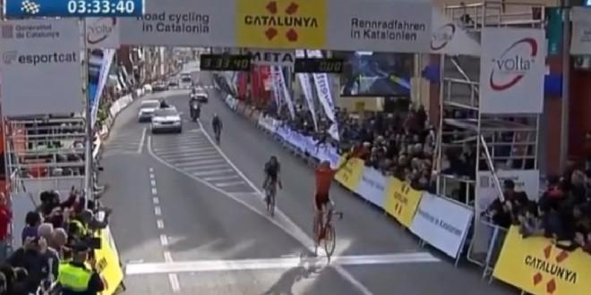 Giro di Catalogna, la fuga premia Paterski