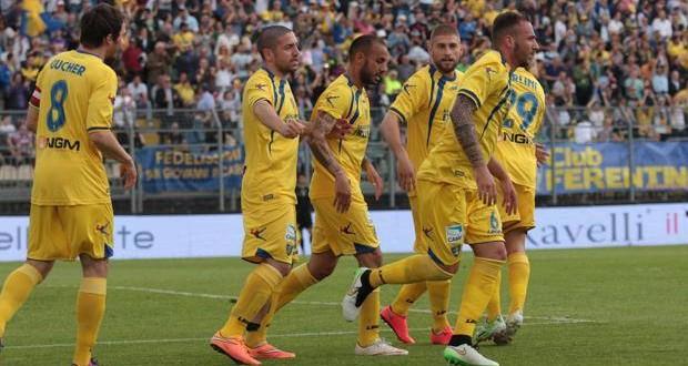 Serie B, 37a giornata: Carpi sconfitto a Frosinone, promozione rinviata