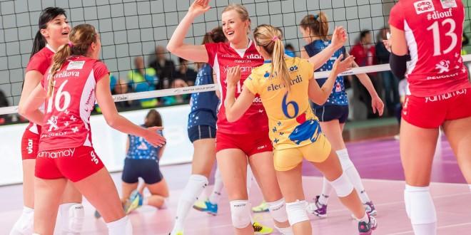 Volley femminile, c'è Busto Arsizio in Champions. Oggi anche Novara-Bergamo