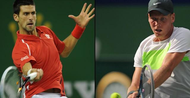 Montecarlo, finale Berdych-Djokovic. Fed Cup, Italia-Usa 1-1
