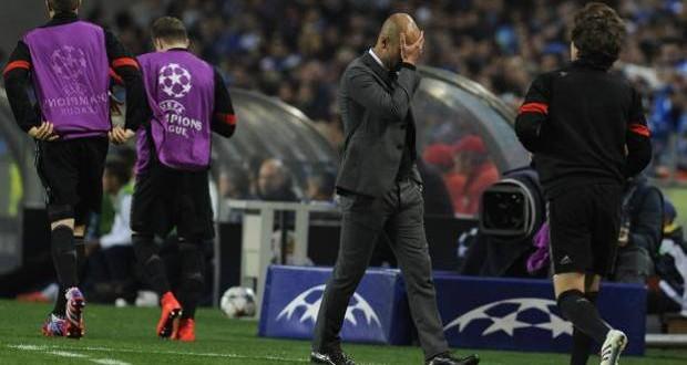CL: Bayern, che tracollo! Guardiola ora rischia