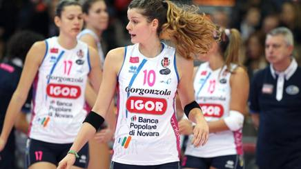 Volley, playoff scudetto: Novara-Bergamo 3-1