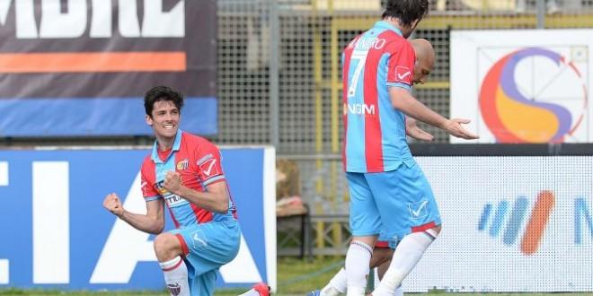 Serie B: Catania ok, Livorno-Frosinone pari. Stasera Entella-Pro Vercelli