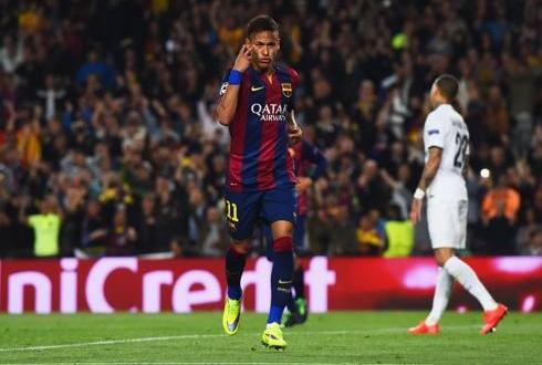 Champions: al Camp Nou esplode la stella di Neymar