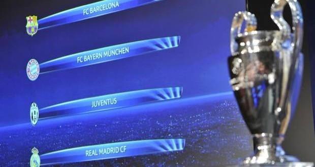 Sorteggi Champions: la Juventus pesca il Real, poi Barcellona-Bayern