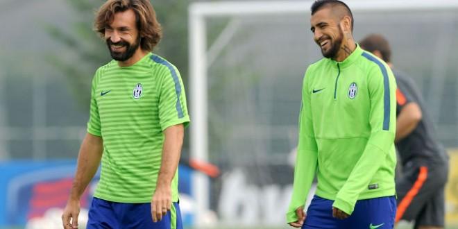 Juve, buone notizie per il Monaco: Vidal si allena