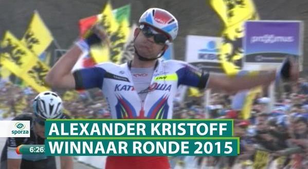 Superlativo Kristoff, il Giro delle Fiandre è suo!