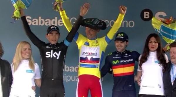 Rodriguez si prende il Giro dei Paesi Baschi 2015
