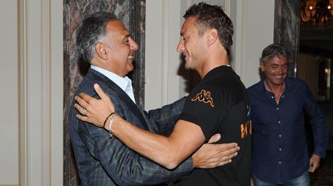 Roma : la rabbia di Pallotta e il futuro di Totti