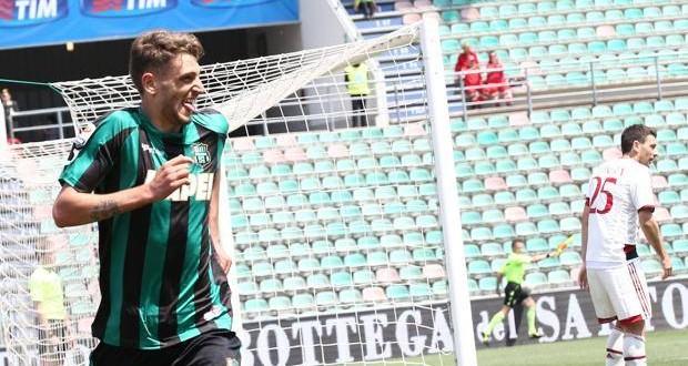 Domenico Berardi, con 7 gol in 2 gare è lui l'ammazza-Milan
