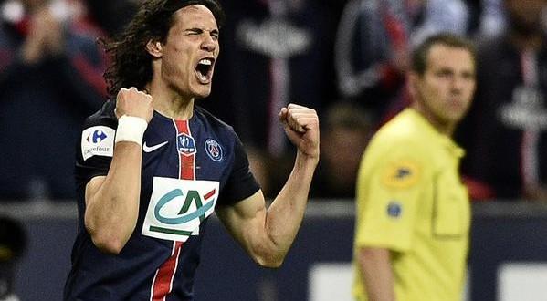 Francia: il Psg vince pure la Coppa di Francia, ci pensa Cavani