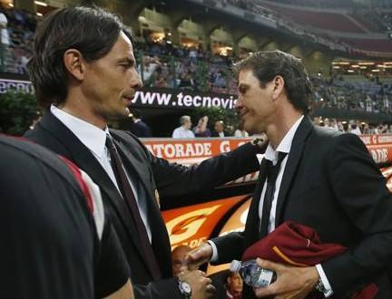 Serie A: Milan-Roma 2-1, orgoglio Inzaghi e rabbia Garcia