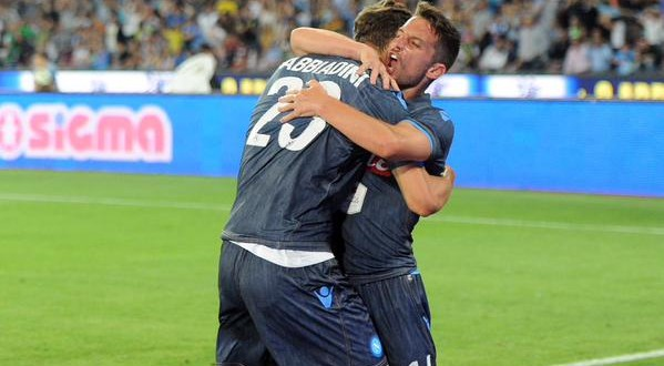 Serie A: Napoli-Cesena 3-2, è Mertens show