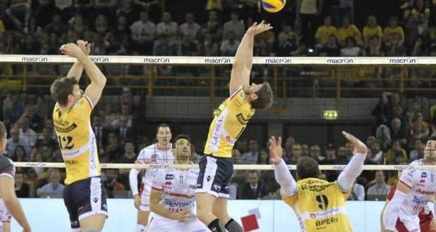 Volley, finale scudetto: Modena tutto orgoglio, Trento battuta 3-1
