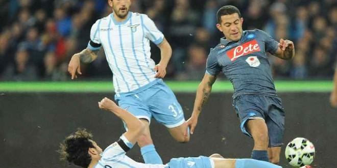 Napoli-Lazio, sfida per l'Europa che conta