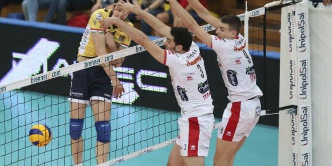 Volley, finale scudetto: Trento-Modena 3-0 in gara-3