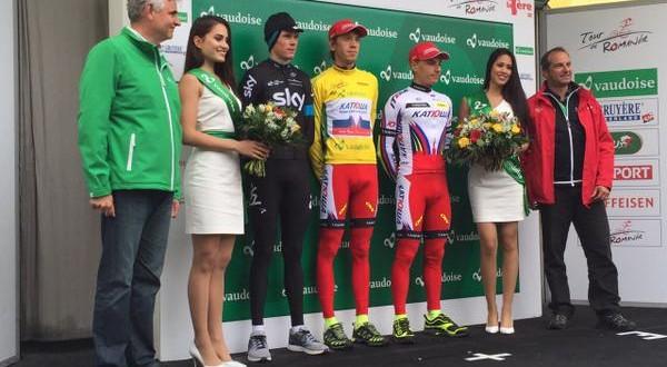 Ilnur Zakarin sbanca il Giro di Romandia 2015