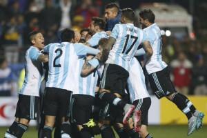 Argentina post gara con la Colombia