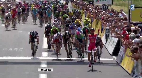 Giro del Delfinato, sprint vincente di Bouhanni