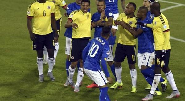 Copa America: riscatto Colombia contro il Brasile, Neymar e Bacca perdono la testa