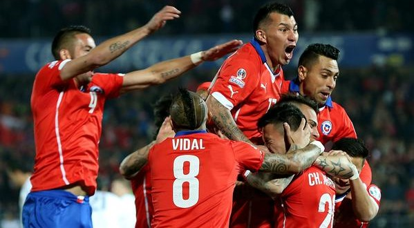 Copa America: Messico a casa, manita Cile alla Bolivia