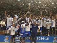 Dinamo Sassari Campione d'Italia