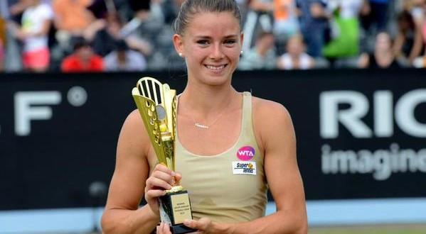Camila Giorgi, la prima gioia viene dall'erba di 's-Hertogenbosch