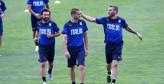 Nazionale: azzurri sbarcati a Spalato senza Verratti e De Rossi