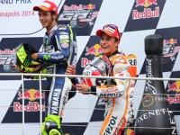 Rossi e Marquez ad Assen