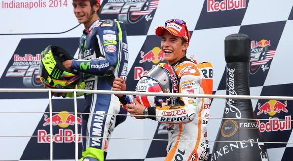 MotoGp: ad Assen è trionfo-Rossi, 2° Marquez, 3° Lorenzo