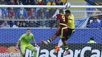 Copa America, clamorosa Colombia: perde 0-1 col Venezuela