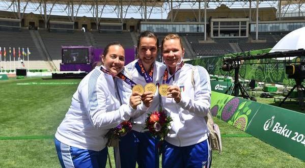 Baku 2015, nuovo oro dall'arco e argento dalla carabina
