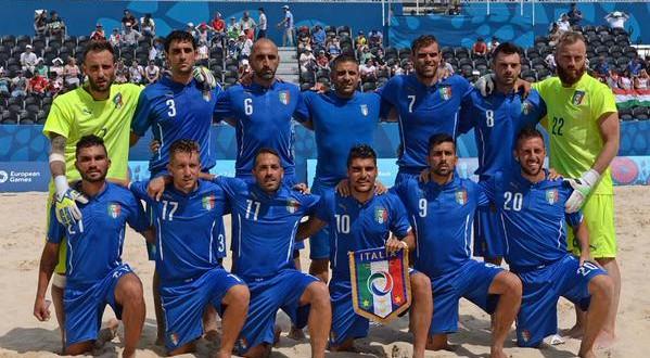 Beach soccer, ecco gli azzurri convocati per i Mondiali in Portogallo