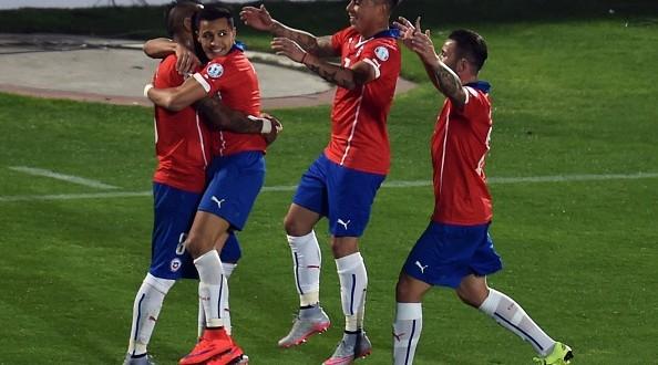 Copa America, Cile-Uruguay 1-0: Roja in semifinale