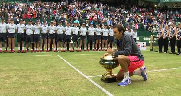 Halle, ottavo trionfo Federer. Seppi si arrende con onore [video highlights]