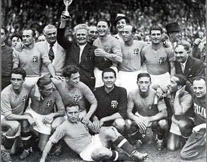 19 giugno 1938: l'Italia di Vittorio Pozzo è campione del mondo bis!