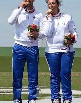 Baku 2015, Campriani-Zublasing e Luchini-Bacosi coppie d'oro!