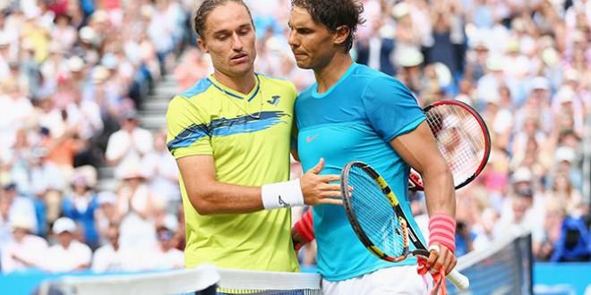 Nadal subito KO al Queen's. Ok Federer ad Halle