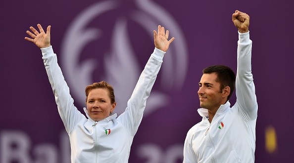 Baku 2015, primo oro Italia: Nespoli-Valeeva primi nell'arco!