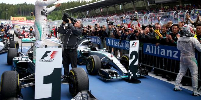 Formula 1, in Austria trionfa Rosberg su Hamilton. Vettel solo 4°
