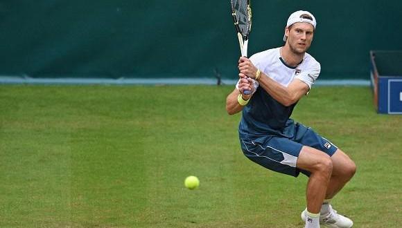 Halle, finale Seppi-Federer